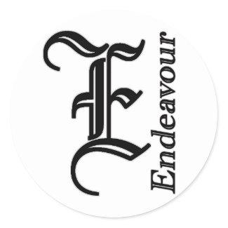 Endeavour Yachts sticker