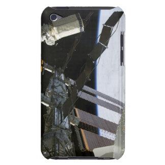 Endeavour's arm amidst International Space Stat iPod Case-Mate Case
