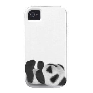 endecha de la panda del bebé 3d iPhone 4/4S funda