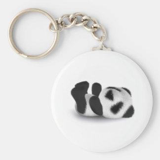 endecha de la panda del bebé 3d llaveros