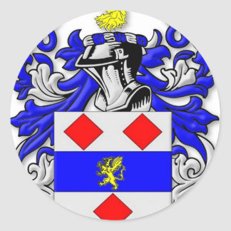 Endecott Coat of Arms Classic Round Sticker