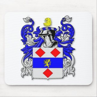 Endecott Coat of Arms Mouse Pad
