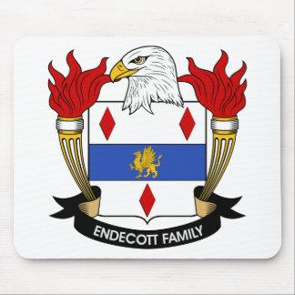 Endecott Family Crest Mouse Pad