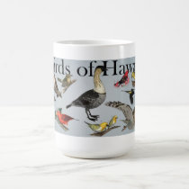 Endemic Birds of Hawai'i Coffee Mug