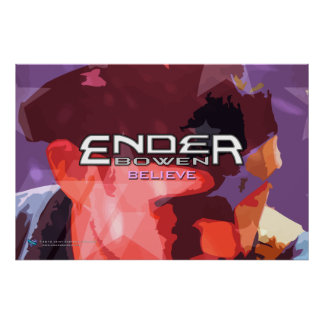 """Ender Bowen """"cree"""" el poster grande del EP"""