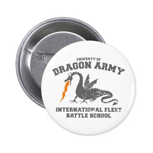 ender dragon army 2 inch round button