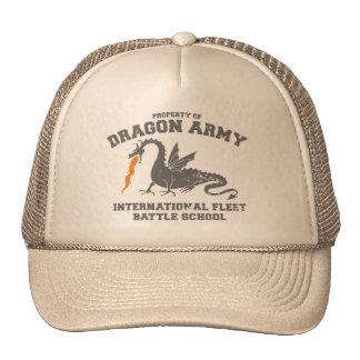 ender dragon army trucker hats