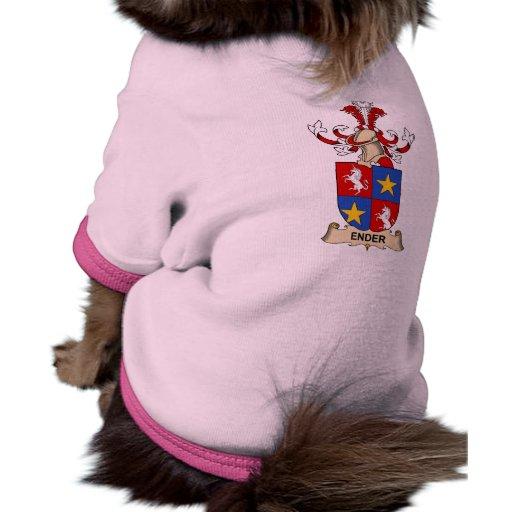 Ender Family Crest Pet T Shirt