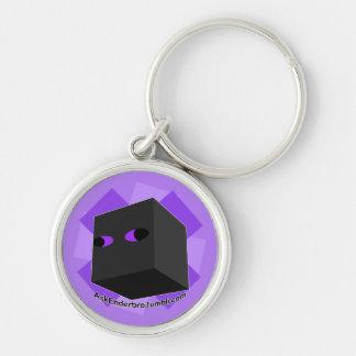 Enderbro Purple Keychain