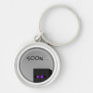 Enderbro Soon Round Keychain