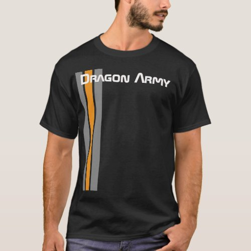 Enders Game Dragon Army black T_Shirt