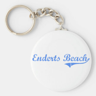 Enderts Beach California Classic Design Key Chains