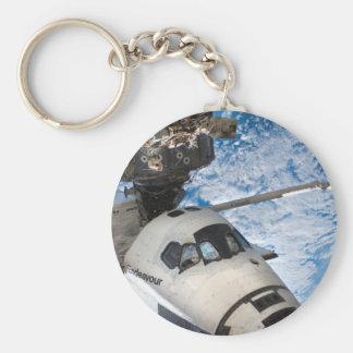 Endevour space shuttle keychain