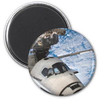 Endevour space shuttle fridge magnet