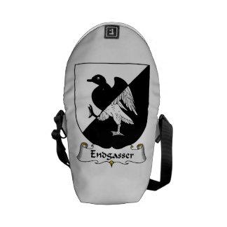 Endgasser Family Crest Messenger Bags