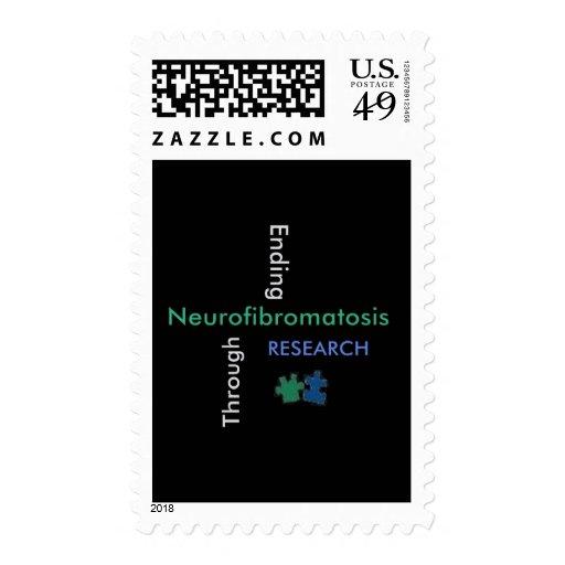 Ending NEUROFIBROMATOSIS Through Research Postage