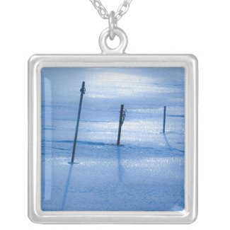 Endless blue necklace necklace