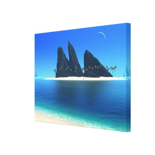 Endless Blue (Original) Wrapped Canvas