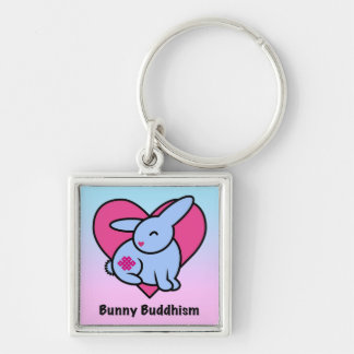 Endless Bunny Buddhism Keychain