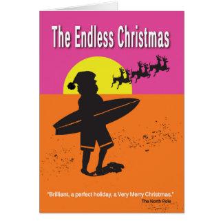 Endless Christmas Greeting Card