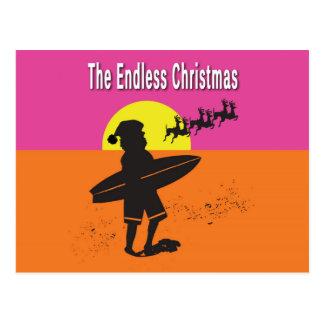 Endless Christmas Postcard