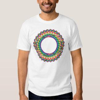 Endless colors, circled frame shirt