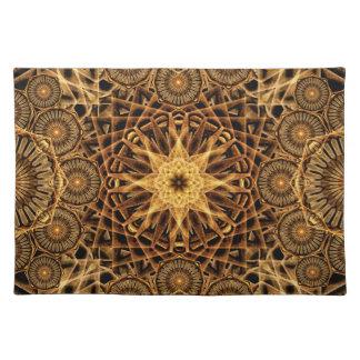 Endless Earth Mandala Cloth Placemat
