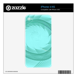 Endless Fish Tail Decal For The iPhone 4S