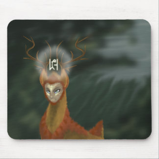 Endless Forest Deer Mouspad Mouse Pad