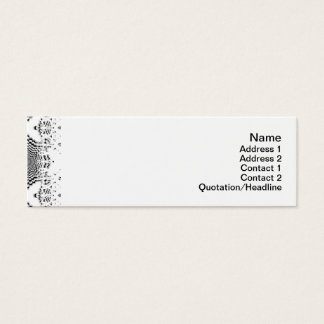 Endless Illusions Mini Business Card