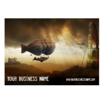 baloon, castle, towers, fairytales, dreams, surreal, fantasy, unique, digital art, yourney, houk, magic, wonderland, home, art, artwork, trendy, special, modern, profile card, computers, bestseller, businesses, Business Card with custom graphic design