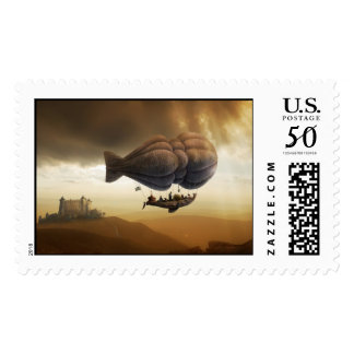 Endless Journey | Steampunk Incredible Adventure Postage