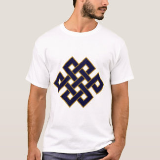 Endless Knot (blue and gold) T-Shirt