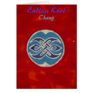 Endless Knot Chang Greeting Cards