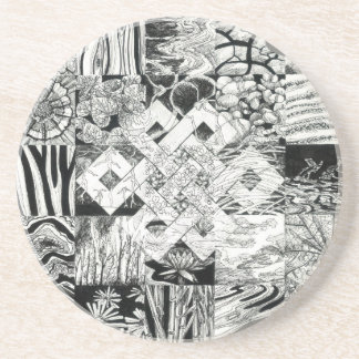 Endless Knot Coasters