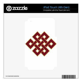 Endless knot decals for iPod touch 4G