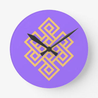 endless knot endless knot round clocks
