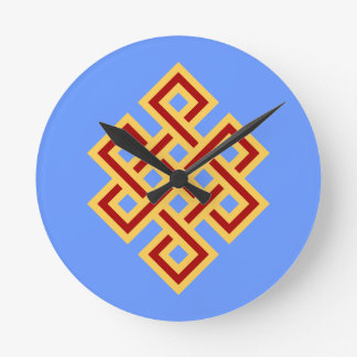 endless knot endless knot round wallclocks
