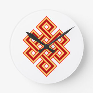 endless knot endless knot round clock