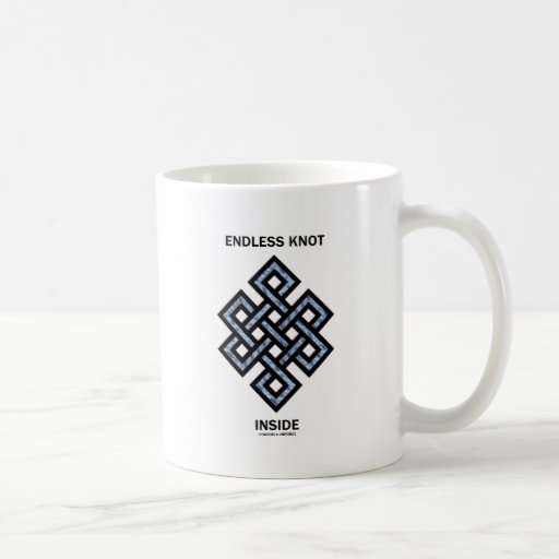 Endless Knot Inside (Psyche / Psychology) Classic White Coffee Mug