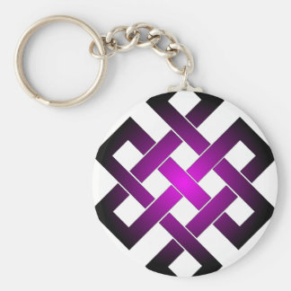 Endless knot keychain