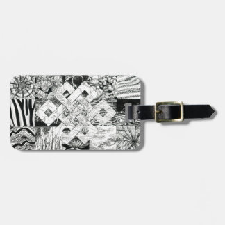 Endless Knot Luggage Tag