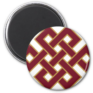 Endless knot magnet