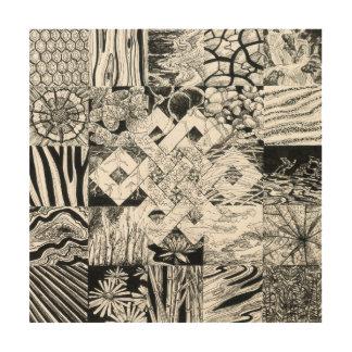 Endless Knot Wood Prints