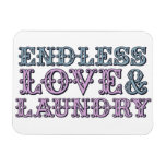 Endless Love and Laundry Flexible Magnet