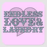 Endless Love and Laundry Stickers
