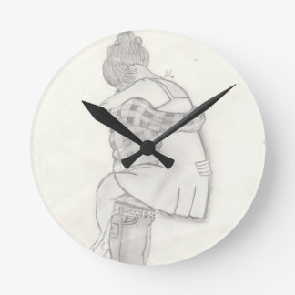 Endless Love Round Wall Clock