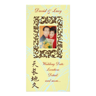 Endless Love in Chinese Wedding Photo Card