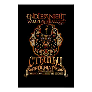 Endless Night: Cthulhu Apocalypse 2012 Deluxe Poster