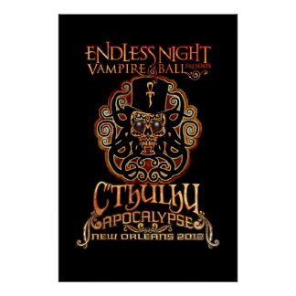 Endless Night: Cthulhu Apocalypse 2012 Value Poster